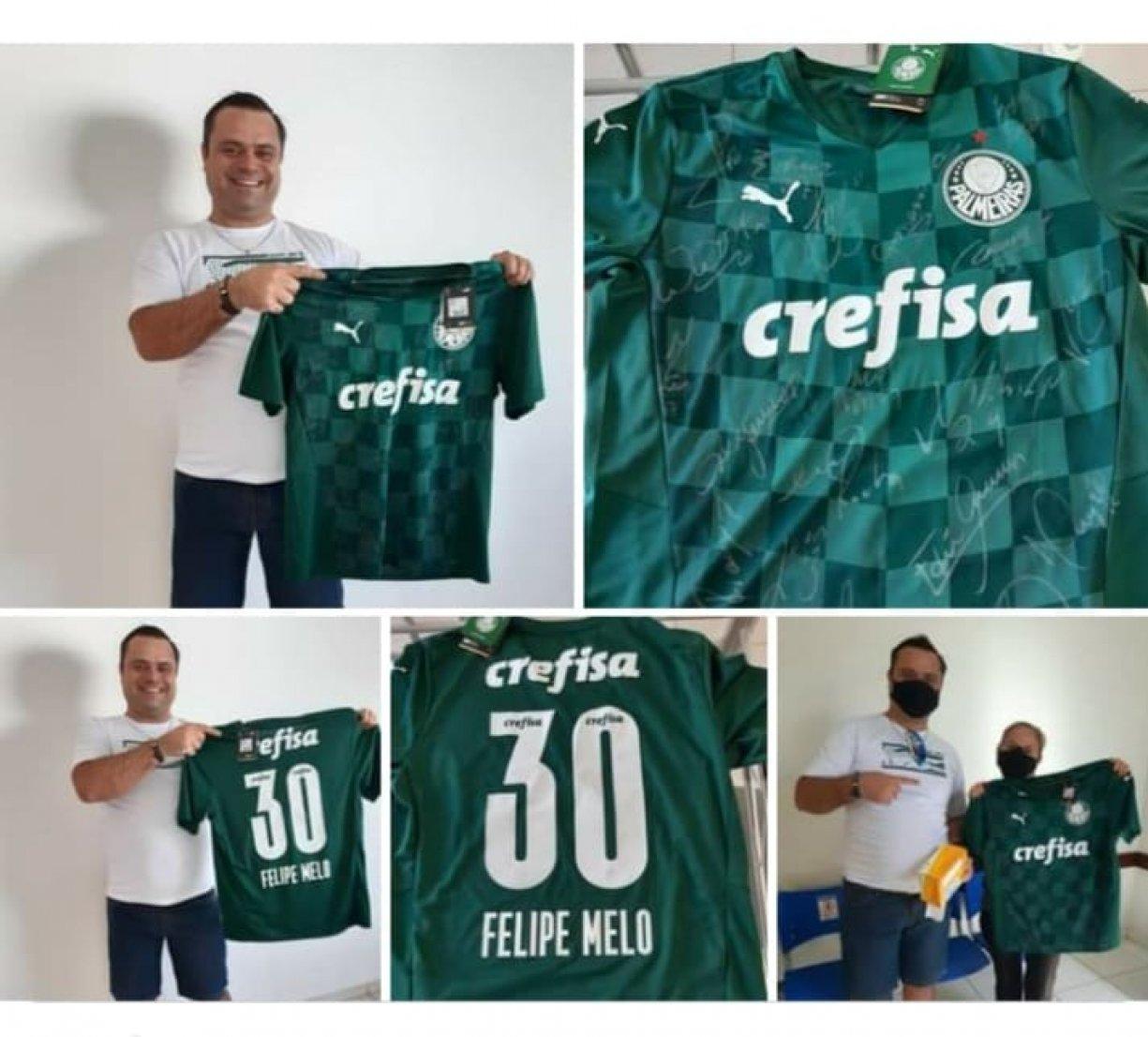 Doação da Camiseta Oficial do Palmeiras