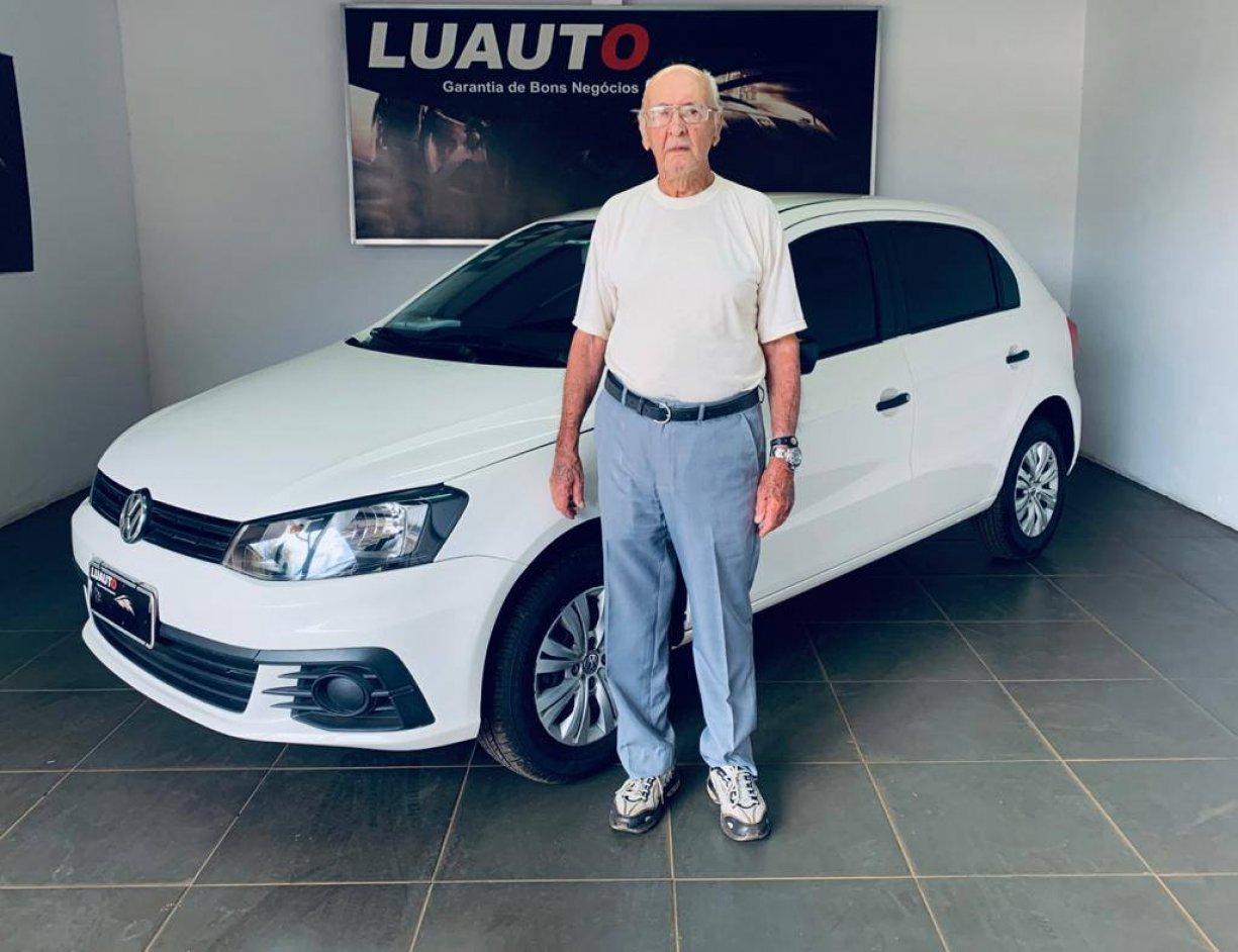 """Agradecimento ao Sr. Paulo Tavares pela doação de um """"veículo VW/ Novo GOL TL MCV 2017/2017"""